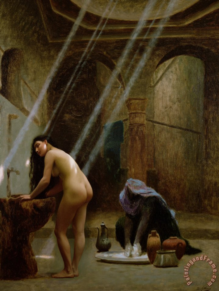sexes to meet in the baths